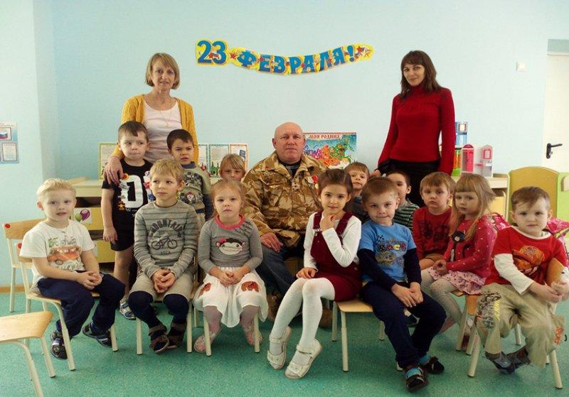 Встреча с ветераном необъявленных войн, воздушно- космических сил РФ Важениным В.А.